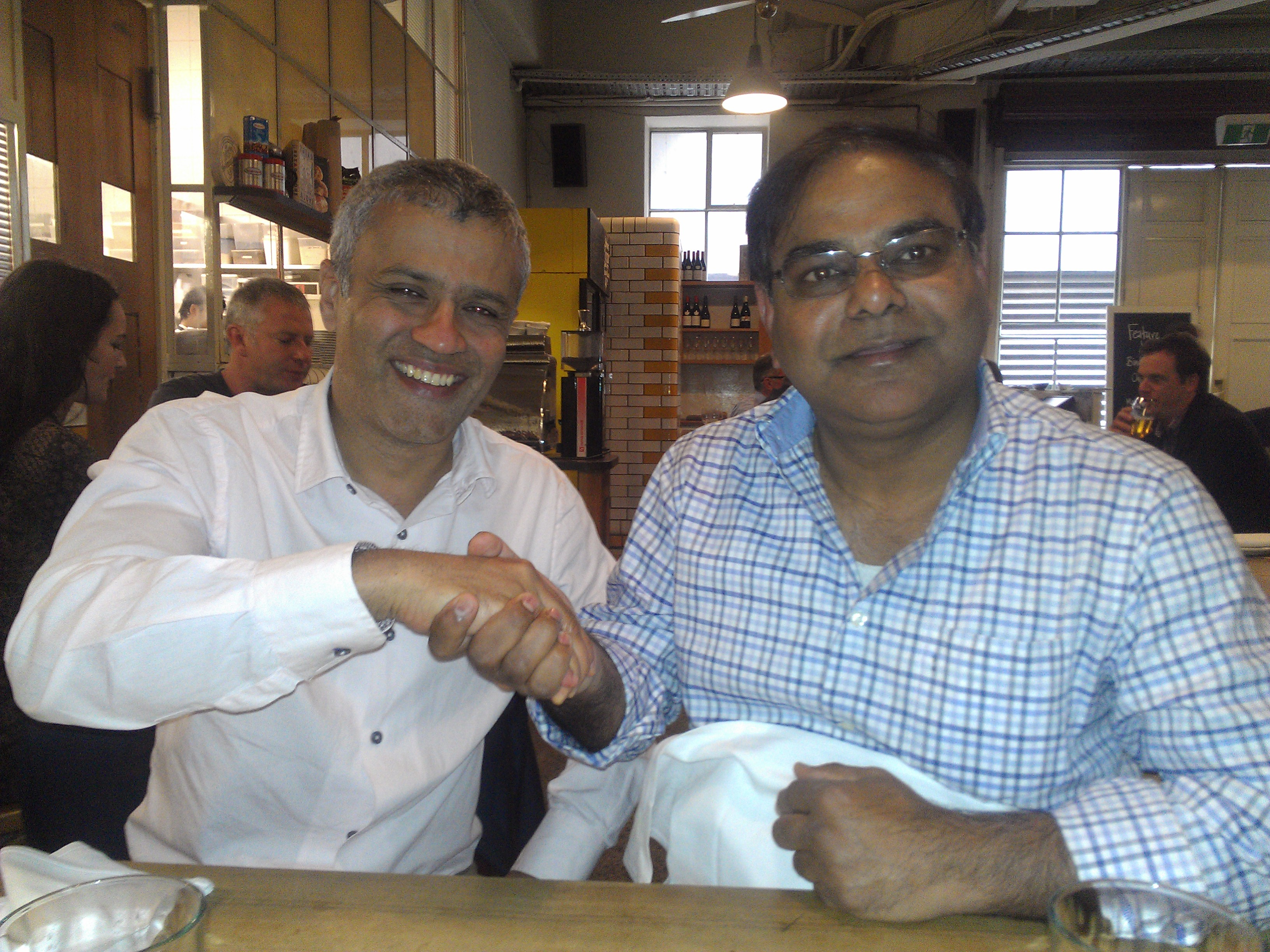 "Sunil Kumar developer of Tarneit Junctio with Pooran Desai of Bio Regional and Author of Book ""One Planet Communities"""