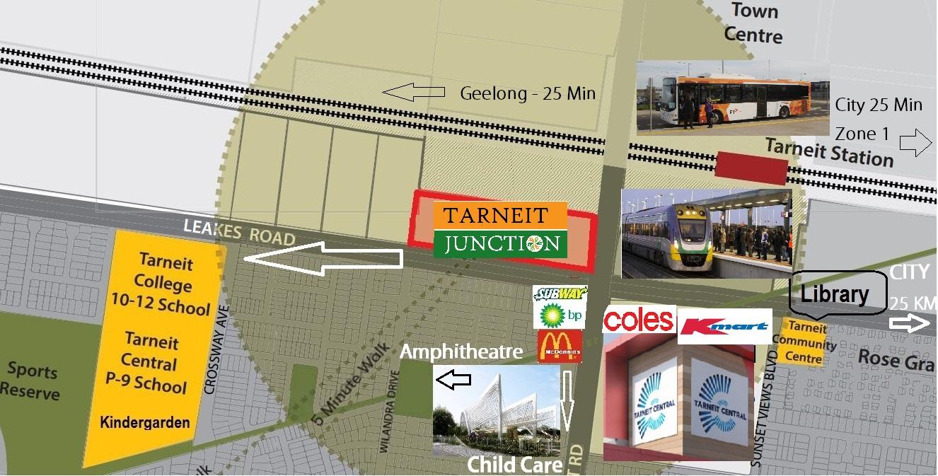 Tarneit Junction 10 minute walk Modified