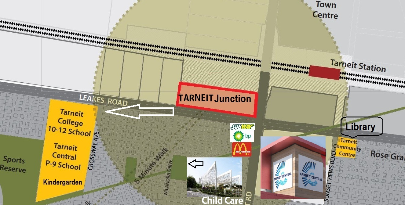 Tarneit Junction 10 minute walk facilities